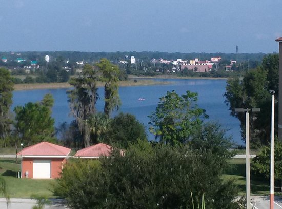 Westgate Vacation Villas Resort & Spa: View fron front balcony of new units