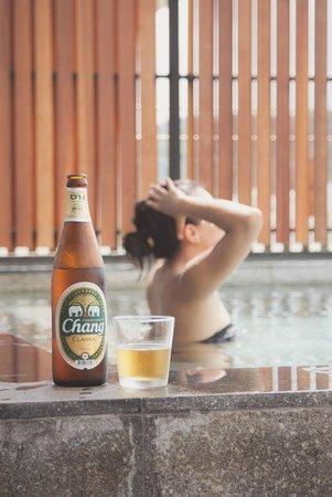Cape Nidhra Hotel: Private Pool
