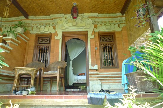 Geria Giri Shanti Bungalows : The room with the view