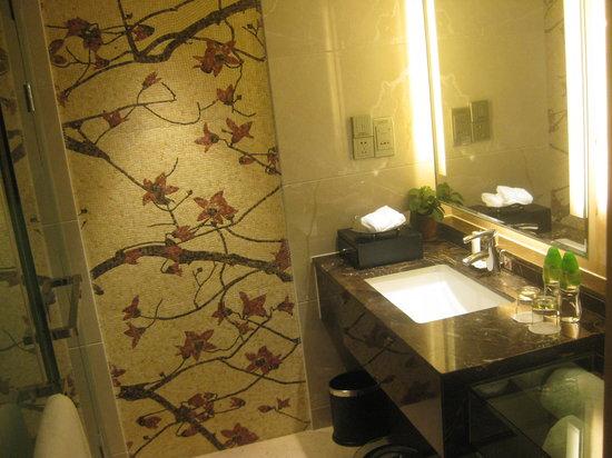 The Garden Hotel Guangzhou: Corner of the bathroom