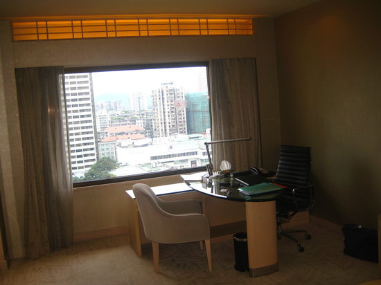 The Garden Hotel Guangzhou: Desk with a view ...