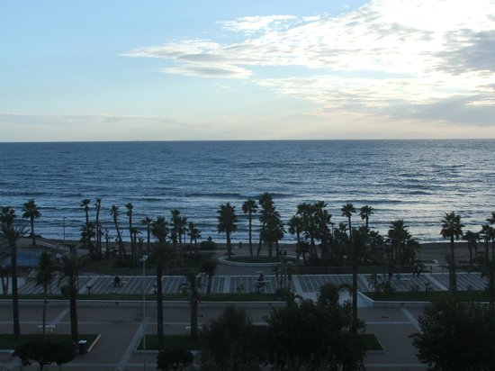 Hotel Mediterraneo: a view from our balcony