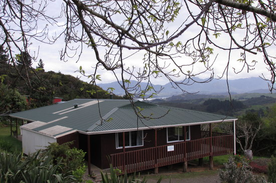 Opononi, Nieuw-Zeeland: Okopako Lodge (Mountain Road, South Hokianga)