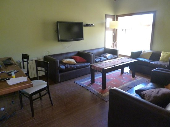 Hotel Poincenot: Sala de estar