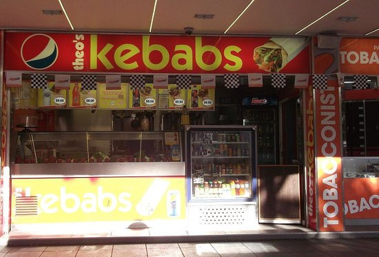 Theo's Kebabs: Plenty of light and space