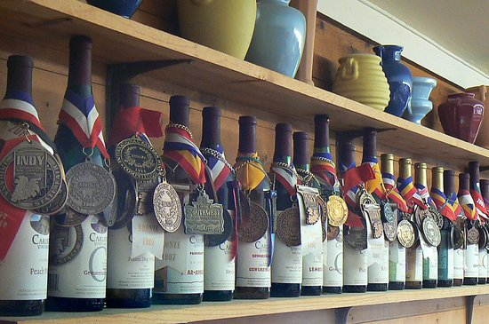 Carlson Vineyards Winery & Tasting Room: Medals