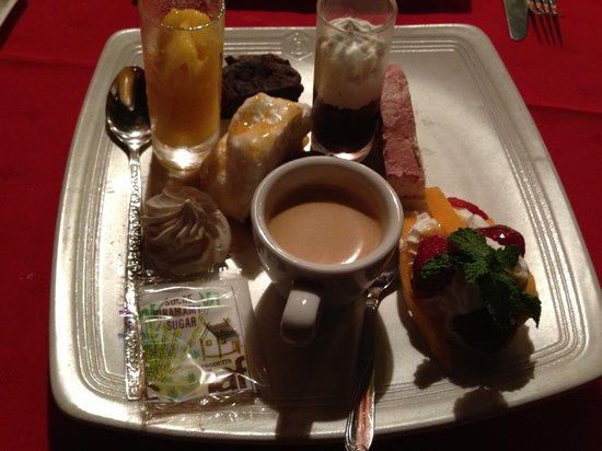 La Boussole: Cafe gourmand
