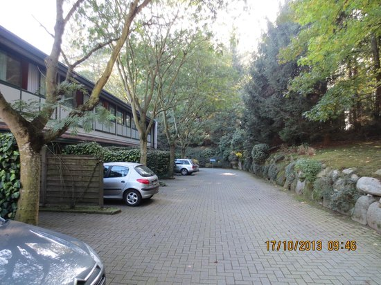 Green Hotel : Drive way