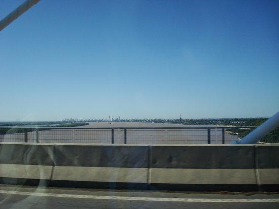 Rosario-Victoria Bridge: Vista desde el puente