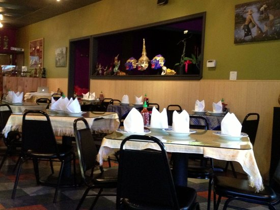 Thai Orchid Cafe downtown K Falls on Main St. Nice cafe with good food.