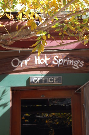 Orr Hot Springs: get started in the office