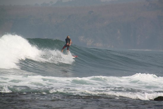 Bayah, Indonesia: the surfing point
