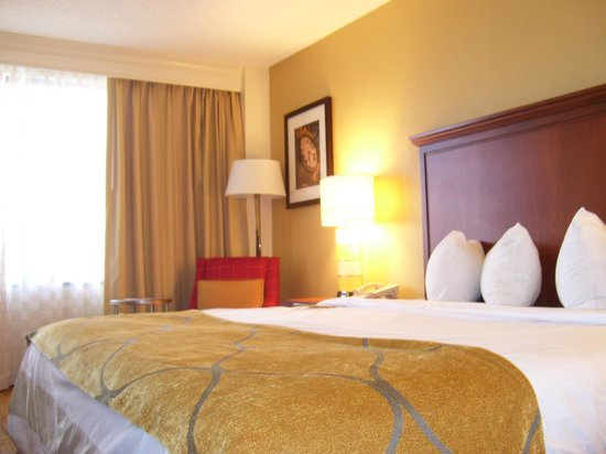 Columbia Marriott: Room 1016 - King Bed