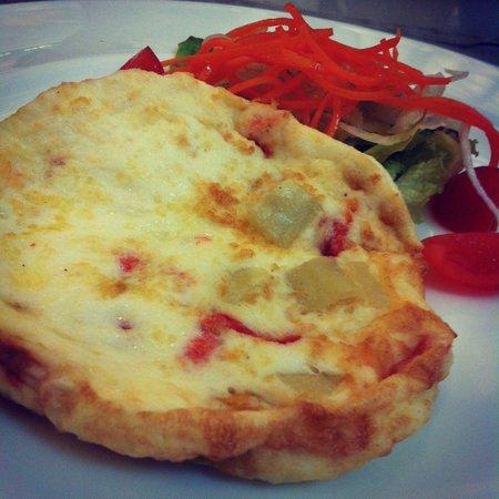 Armani Caffe : Egg omelete