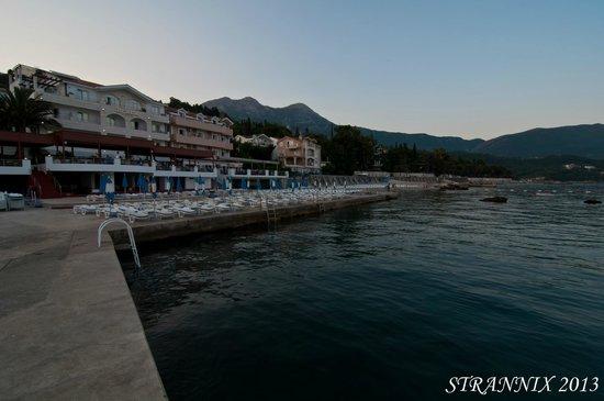 Hotel Perla: С моря