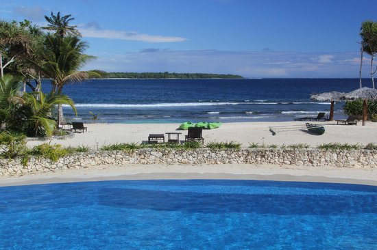 Nasama Resort : View from the pool area