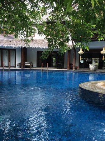 Villa Samadhi: Lagoon style pool