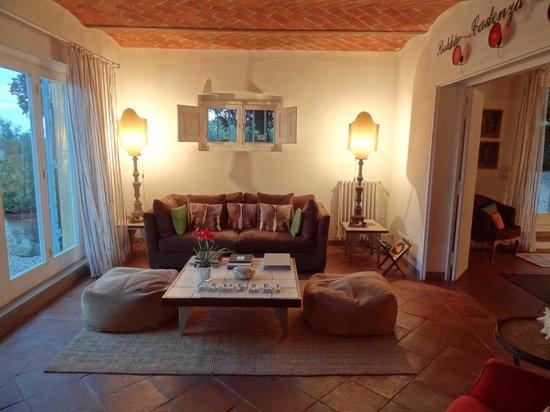 Villa Fontelunga: Sitting room
