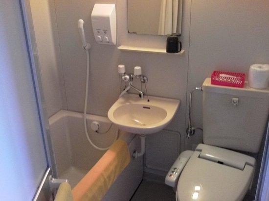 Rakusa Hotel : バス、トイレ