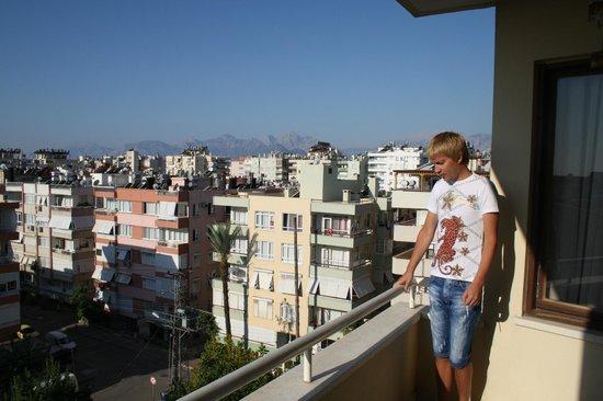 Suite Laguna Apart Hotel : вид с балкона