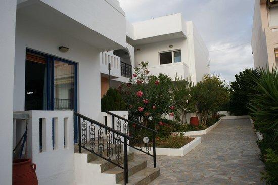 Esplanade Hotel Apartments: Уютные подходы к номерам