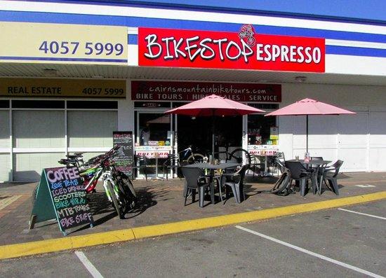 Bikestop Espresso: outside