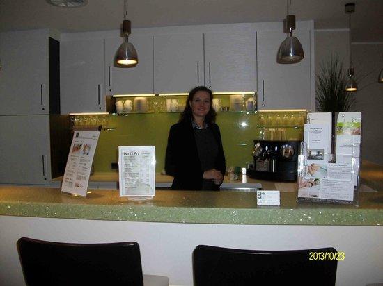 BEST WESTERN PLUS Hotel Böttcherhof: Freundlicher Empfang im Wellnessbereich