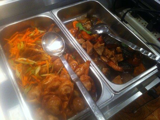 Affinity Vegetarian Restaurant: Beautiful Buffet