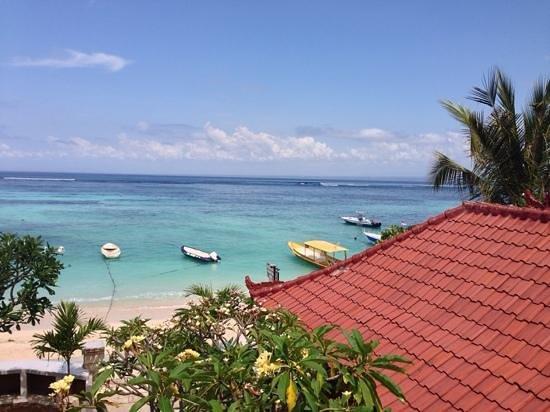 Segara Beach Inn: view from top room