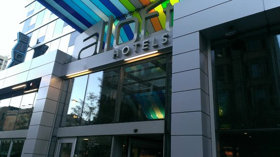 Aloft Chicago City Center : Good neighborhood