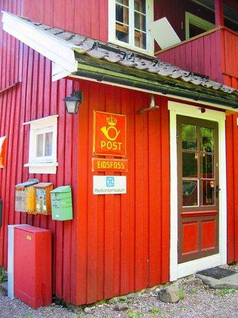 Eidsfoss, Norway: Postkontormuseet