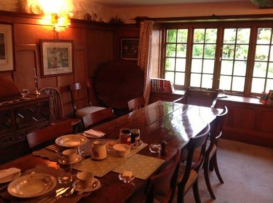 The Old House, Calmsden B&B: the Dining Room