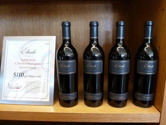 Napa Valley, Kalifornien: Excellent cabernet sauvignon