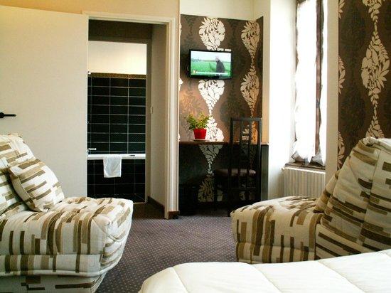 Hotel Restaurant Gilles Moreau : la chambre