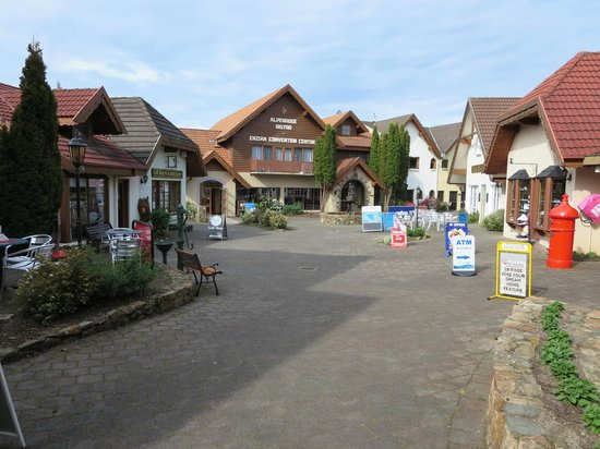 Village Shopping Area