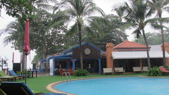 Baan Samui Resort : Raining