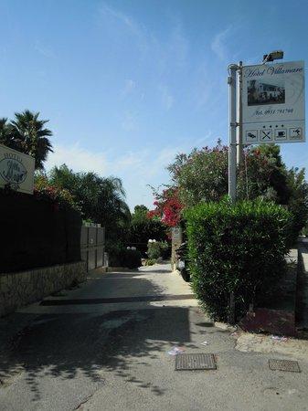 Hotel Villamare: Arrivo