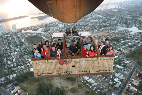 Balloon Aloft Gold Coast: View from above