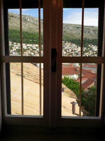 The Balkan Backpacker: Good morning - view out of bathroom