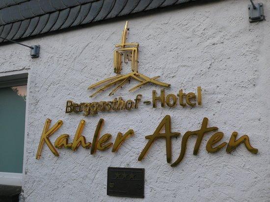Berggasthof Hotel Kahler Asten: Außenansicht