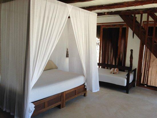 Casa Violeta: the inside of our room...definitely Romantic!