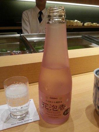 Asuka Japanese Dining: Sparkling Saki