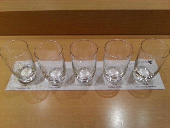 Asuka Japanese Dining: Ready for 5 types of premium Saki