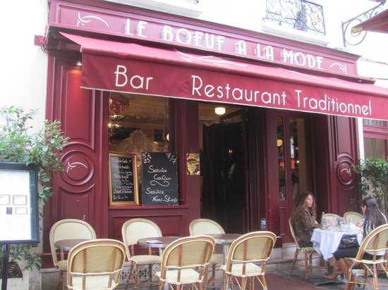 Le Boeuf a la mode: Le Boeuf à la Mode - a great place for lunch!