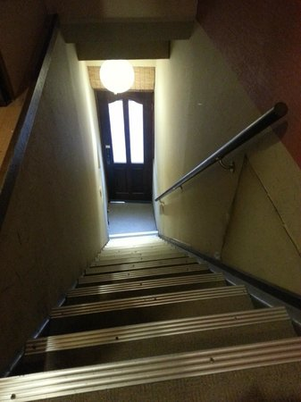 The Koenji: The stairs are narrow and long, so those with large luggage might have some trouble