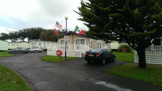 Holiday Resort Unity: Photo of our lodge in the Leisure Park area.