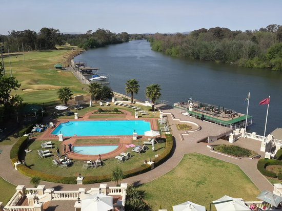 BON Hotel Riviera on Vaal: View from my room