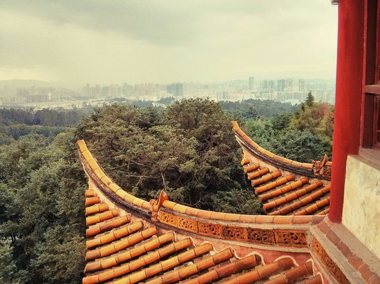 Kunming Golden Temple : Golden Temple Park