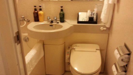 Hotel Eclair Hakata: バスルーム