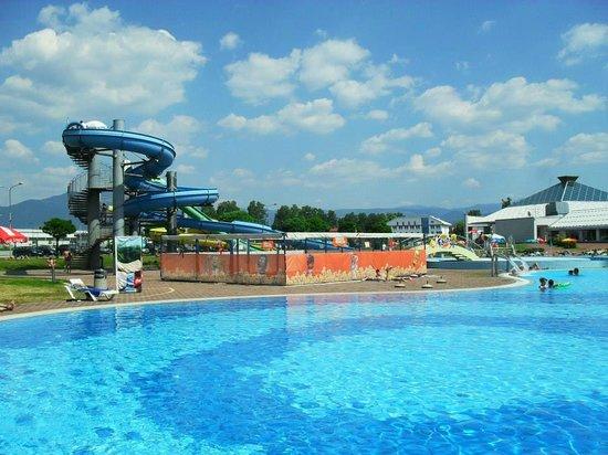 Swimming Pool With Wave Machine Picture Of Terme Ilidza Sarajevo Tripadvisor